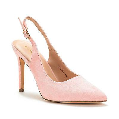 DREAM Toe Stiletto Heel Slingback