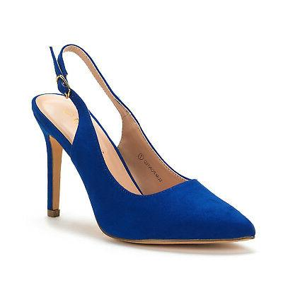 DREAM Toe High Slingback Shoes
