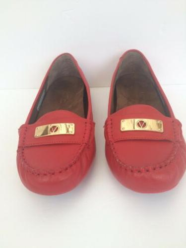 womens 8 5 wide orthaheel technology red