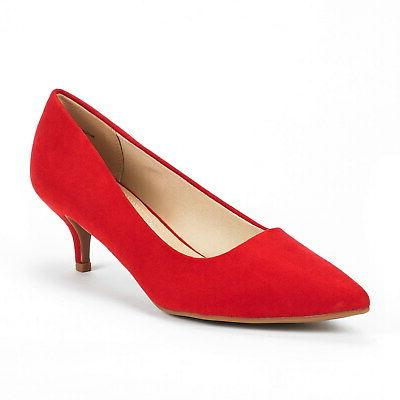 DREAM Heel Pointed Toe Wedding Party On Pump