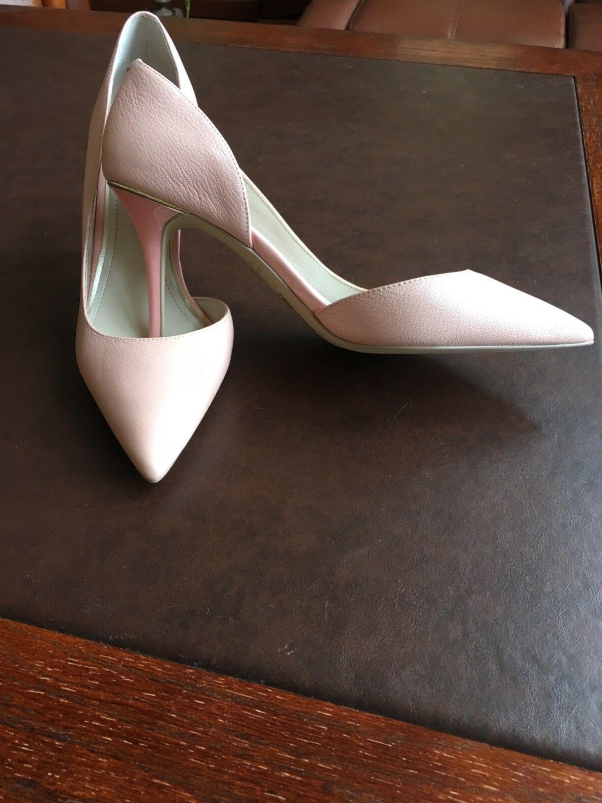 Women's shoes worn