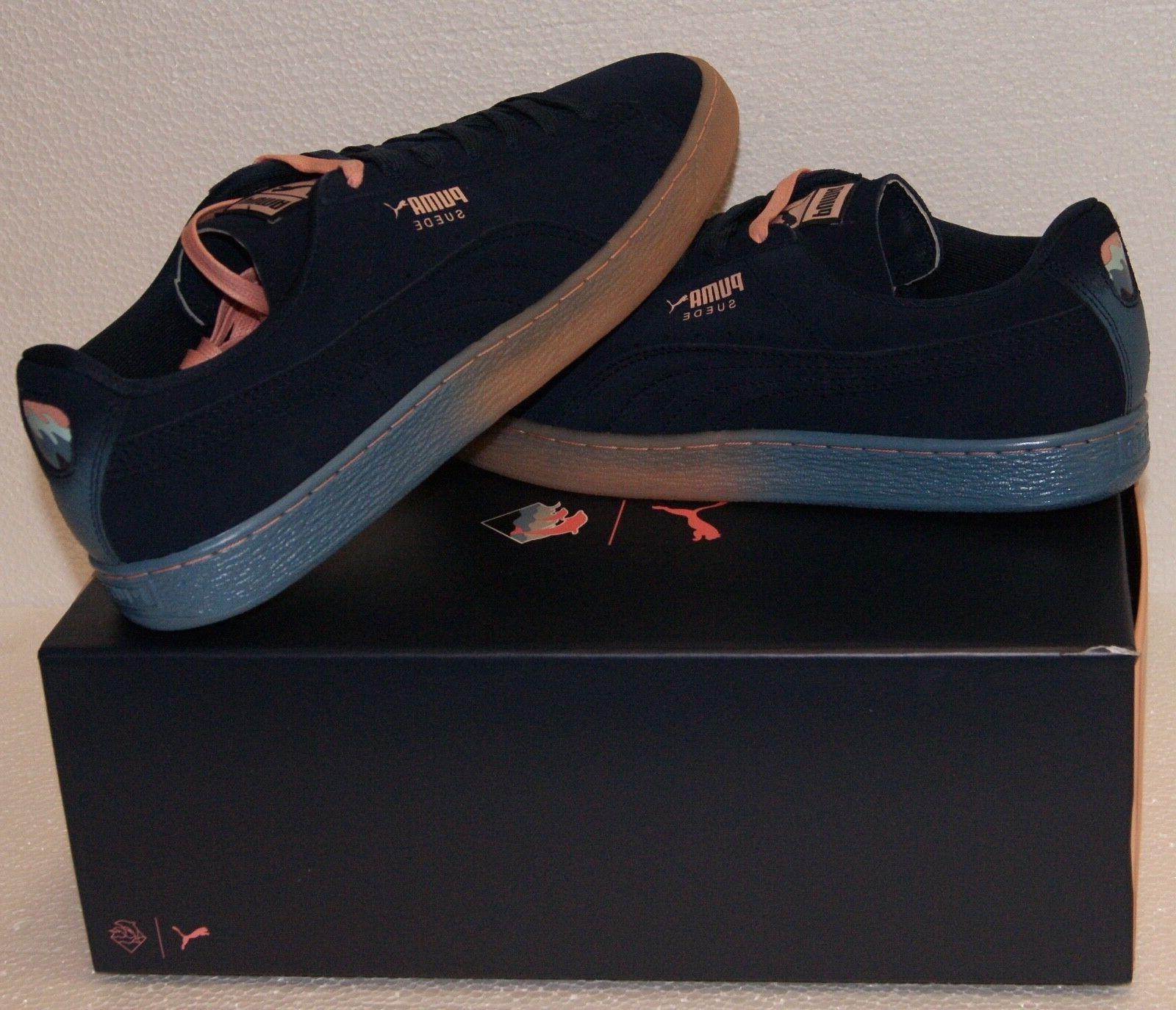 Puma X Suede Classic Blue Coral BRAND