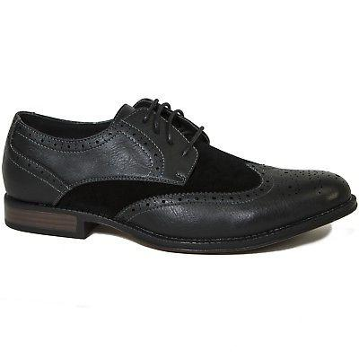 Wing Tip Dress Two Tone Up Oxfords