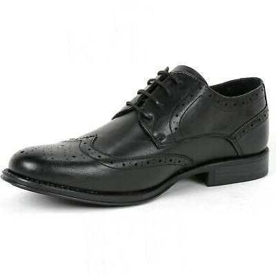 Alpine Swiss Zurich Wing Tip Dress Two Up Oxfords