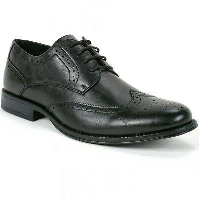 zurich mens wing tip dress shoes two