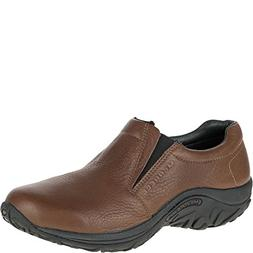Men's Merrell 'Jungle Moc' Leather Athletic Slip-On Brown 11