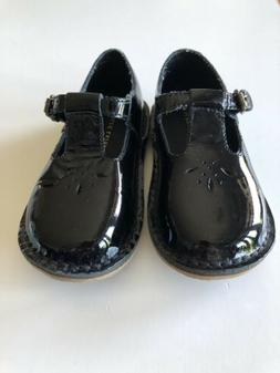Ralph Lauren Leather Flat dress Shoes For Toddler Girl Size