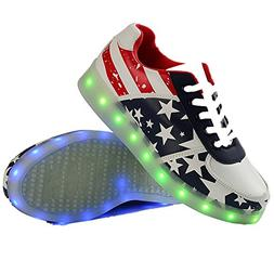 Hanglin Trade LED Light Shoes Spring And Autumn Men CasualFo