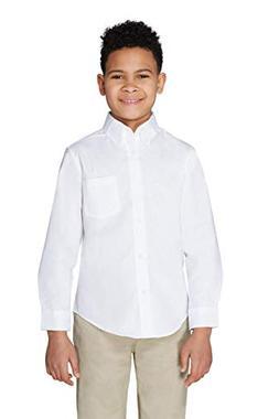 French Toast - Boys' Long Sleeve Oxford Shirt - E9002