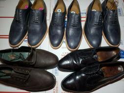 Lot Of 5 Men Dress Shoes Allen Edmonds, Johnson and Murphy V
