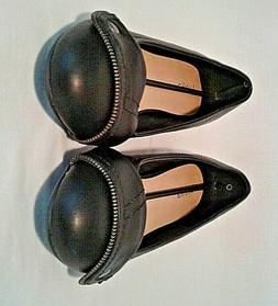 Luoika Women's Dress Shoes Flats Black Size 9 Wide Soft Inso