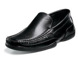 Stacy Adams MAC 24688-001 Mens Black Leather Moc Toe Slip On