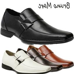 Bruno MARC Men's Loafers Dress Classic Square Toe Formal Oxf