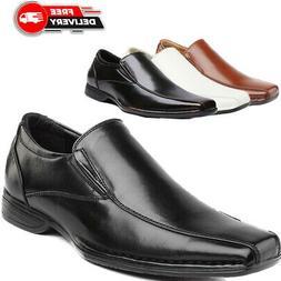 Bruno MARC Men's Loafer Shoes Classic Slip On Oxford Formal