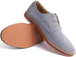 Marino Suede Oxford Dress Shoes for Men - Business Casual -