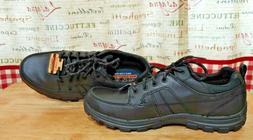 Skechers Men Black shoes sneaker 12 Relaxed fit memory foam