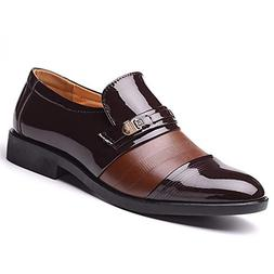 Hanglin Trade Men Business Shoes Formal Office Wedding Shoes