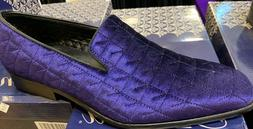 men dress/loafers shoes purple amali 049