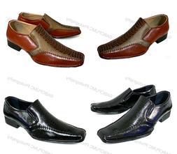 Men Dress Shoes Alligator Crocodile Casual Western Leather L