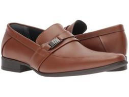 Men Dress Shoes Calvin Klein Casual Brighton Leather Slip On