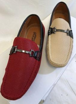 MEN GIOVANNI DRESS SHOES PROM LOAFER CASUAL STYLE SLIP-ON BU