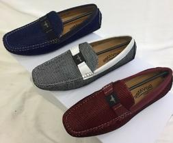 MEN GIOVANNI DRESS SHOES PROM LOAFER CASUAL STYLE SLIP-ON WH