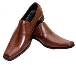 men genuine leather comfort shoes business dress