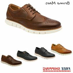 Bruno Marc Mens Genuine Leather Shoes Casual Lace Up Busines