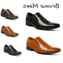 BRUNO MARC Men's Classic Formal Dress Shoes Slip On Comfort