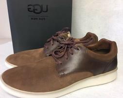 UGG Australia Men HEPNER Suede OXFORD Lace Up Dress Shoes Ch