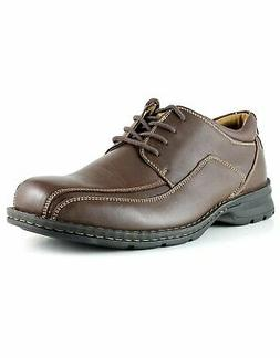 Dockers Men Leather Lace-Up Oxford Trustee Casual Dress Shoe