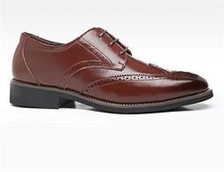 Men Leather Oxford Dress Shoes Formal Wedding Shoes US Men)