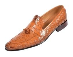 Men Real Leather Shoes Handmade Loafers Casual Dress Leather