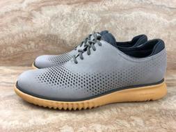 Cole Haan Men's 2.ZeroGrand Laser Wingtip Oxford Dress Shoes