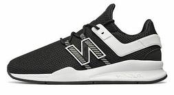 New Balance Men's 247V2 Deconstructed Shoes Black With White