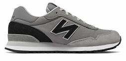New Balance Men's 515 Shoes Grey With Black