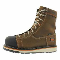 Timberland Pro Men's 8.in Gridworks Waterproof CSA Safety Bo