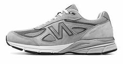 New Balance Men's Made in US 990v4 Shoes Grey