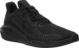 adidas Men's Alphabounce 3 Running Shoe, Black/Black/Black,