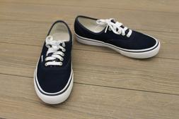 Vans Men's Authentic Pro Skate Shoe ‑ Dress Blue/White Siz