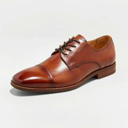 Men's Brandt Leather Cap Toe Oxford Dress Shoes - Goodfellow