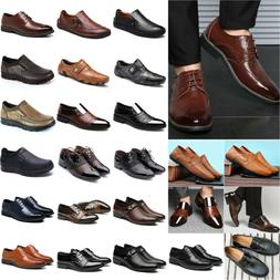 Men's Business Dress Shoes Oxfords Brogues Formal Casual Loa