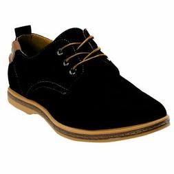iLoveSIA Men's Canvas Oxfords Shoe US Size 8 Black