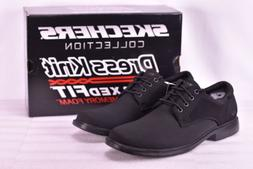 Men's Skechers Dress Knit Caswell- Frendo Dress Shoes Black
