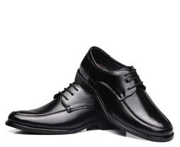 Men's Classic Fashion Leather Lace Up Derby Loafers Oxford D