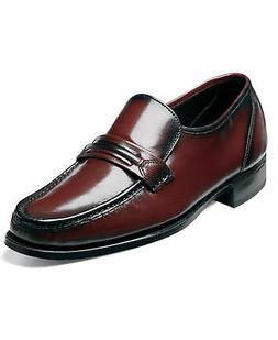 Florsheim Men's Como leather dress Black Cherry Shoes 17089-