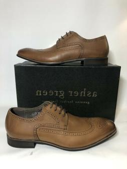 Men's Asher Green Davon Size 11 Dress Shoes Lace-up Brown Br