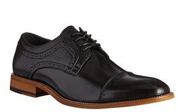 Stacy Adams Men's Dickinson Cap-Toe Lace-up Oxford Black, Si