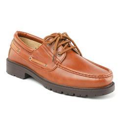 Men's Dress Oxford Shoes Lace Up Moccasins Drving Boat Shoes