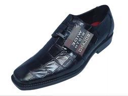 Men's Dress Shoes Bolano Big Block Gator print,Oxford,Wide W